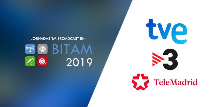 TV3, TVE y Telemadrid, protagonistas del Desayuno TM Broadcast sobre elecciones y resultados electorales en BITAM Show 2019