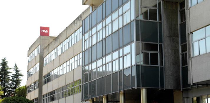 Exteriores de la sede de RNE