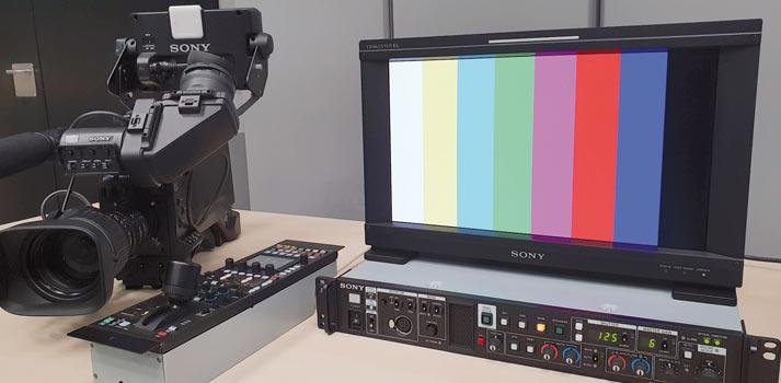 Equipamiento laboratorio Sony HXC-FB80 pack completo