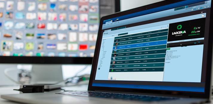 Sistema VSNExplorer utilizado desde su versión web para gestionar la cadena La Octava