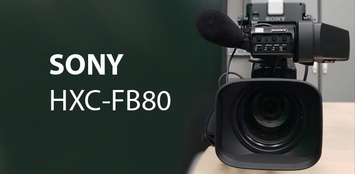 Presentación laboratorio Sony HXC-FB80