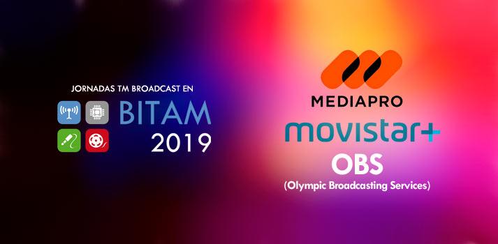 Desayunos TM Broadcast BITAM Show con Mediapro, Movistar + y Olympic Broadcasting Services