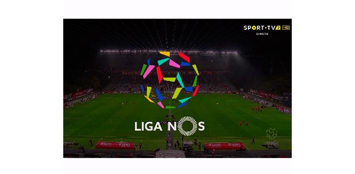 Muestra del nuevo acabado gráfico utilizado por la Liga Portuguesa