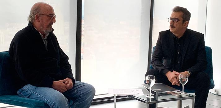 Anuncio del acuerdo de compra de El Terrat por parte de Mediapro con Jaume Roures y Andreu Buenafuente
