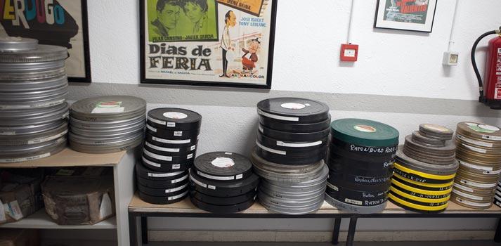Bovinas de películas dispuestas a ser digitalizadas en 8madrid TV