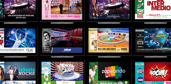 Collage con diferentes implementaciones de la tecnología Digital Skin de Atresmedia