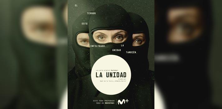 Primera imagen promocional de La Unidad, nueva ficción de Movistar+