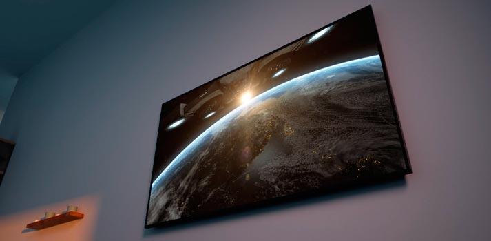 Tecnología Dolby Vision IQ trabajando sobre una televisión