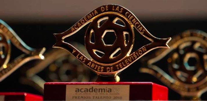 Galardón de los Premios Talentos concedidos por la Academia de Televisión