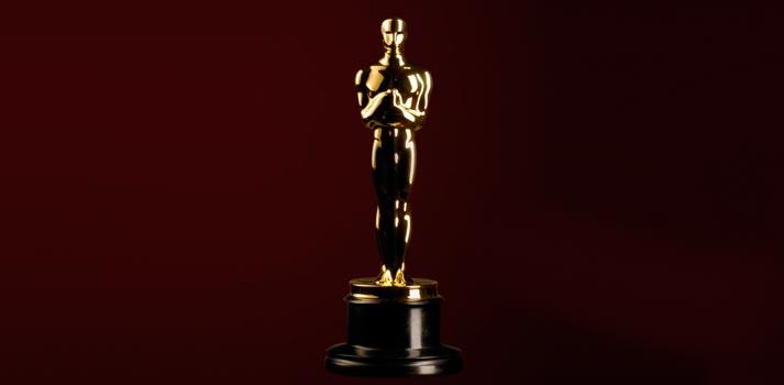 Estatuilla con el galardón de los premios Óscars