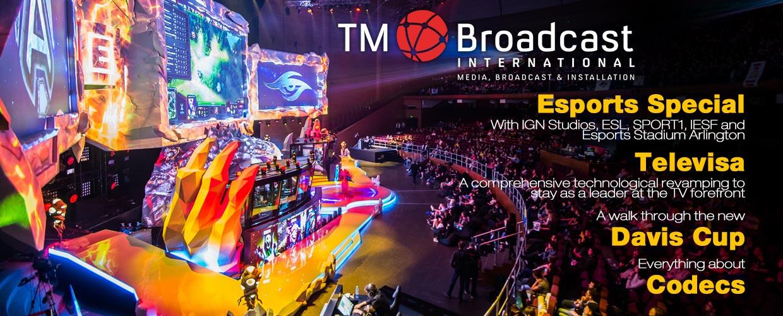 Esports in TM Broadcast International