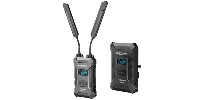 Dispositivos transmisores y receptores Cosmo 600 de Hollyland