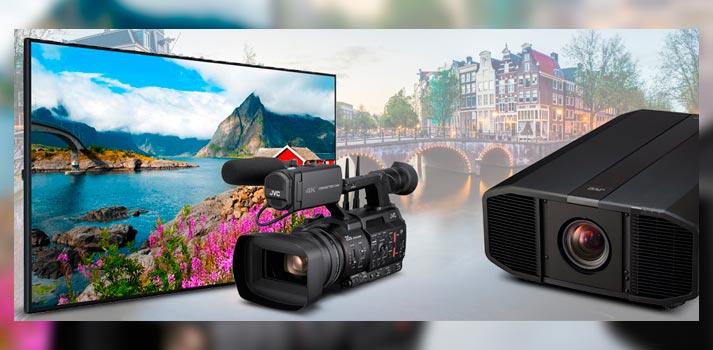 Selección de productos que JVC llevará a ISE 2020