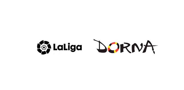 Logotipos de LaLiga y Dorna Sports