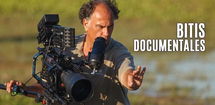Joaquín Rodríguez de Bitis Documentales, rodando una escena