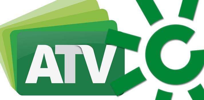 Logos de Andalucía Televisión y Canal Sur