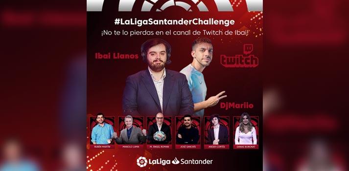 Cartel promocional de LaLiga Santander Challenge