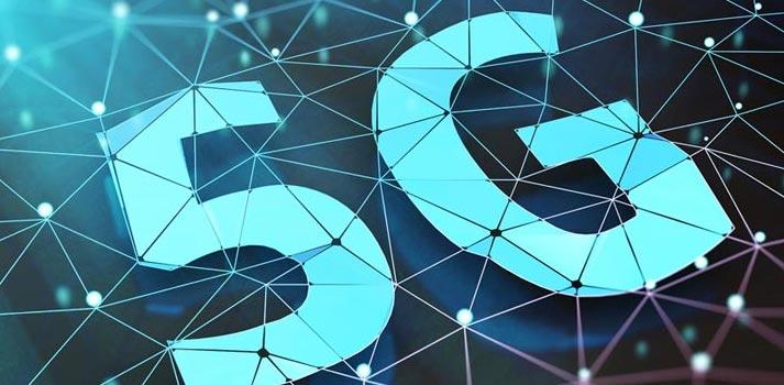 Imagen creativa representar tecnología 5G