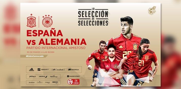 Selección de selecciones. España y Alemania se enfrentan con eSports