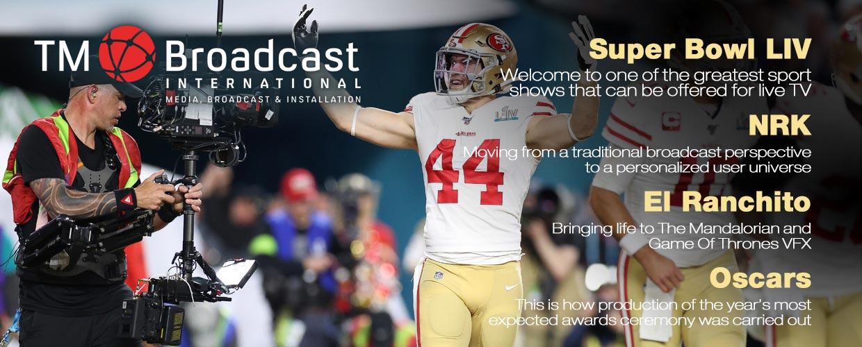 Super Bowl in TM Broadcast