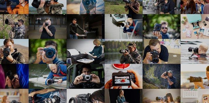 Imagen promocional de Canon Connect