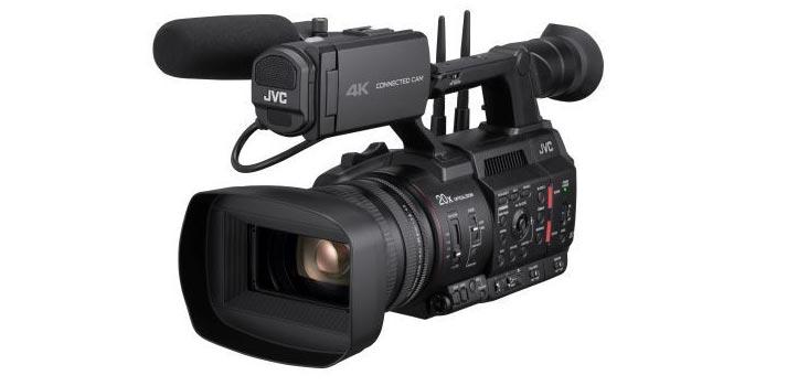 Imagen de la HC550 Connected Cam de JVC
