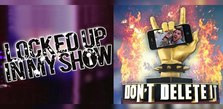 "Formatos televisivos ""Locked up in my show"" y ""Don't delete it"" producidos por Mandarina (Mediaset)"