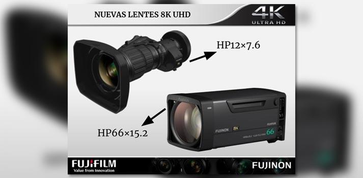 Lentes 8K de FUJINON (Fujifilm) que verán la luz en 2020