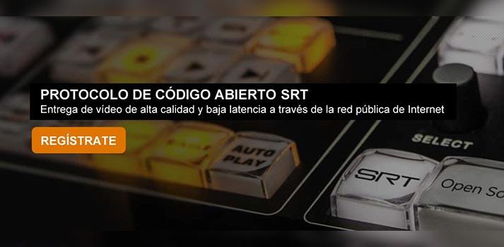 Presentación del webinar de Aicox Soluciones y Haivision sobre SRT