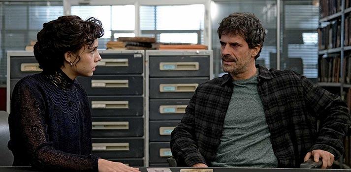 """Frame de una escena de la 4ª temporada de """"El Ministerio del Tiempo"""", una producción de RTVE y Globomedia"""
