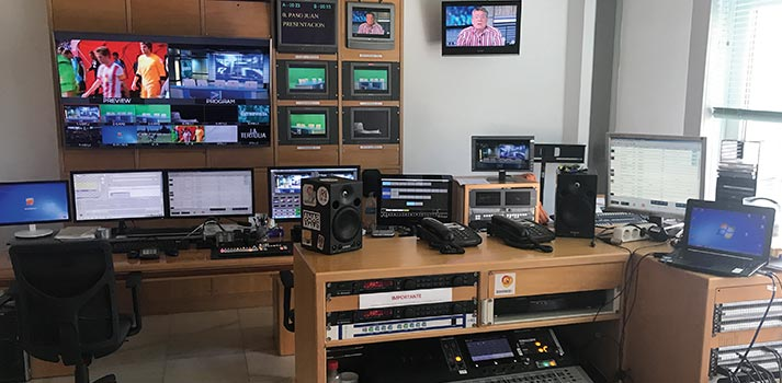 Espacio de emisión de Interalmería TV