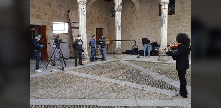 Grabación de Imagina Madrid por Videoreport