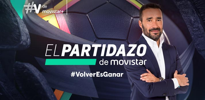 """Movistar+ lanza """"El Partidazo de Movistar Volver Es Ganar"""""""