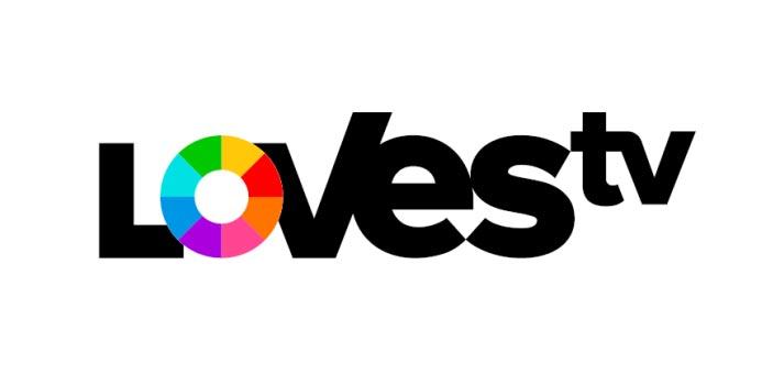Logo de LOVEStv, iniciativa de RTVE, Atresmedia y Mediaset España