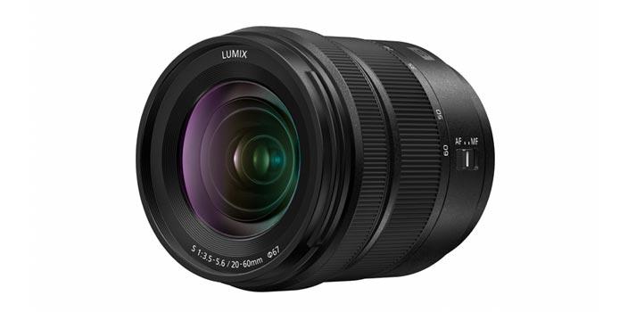 Objetivo S-R2060 de Lumix (Panasonic) - Vista perspectiva
