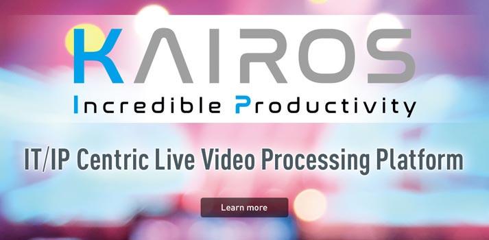 Plataforma de procesado Kairos de Panasonic