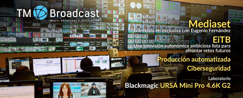 Mediaset en TM Broadcast