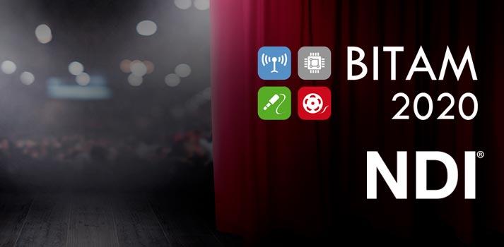 Logotipo de BITAM Show 2020 y de NDI