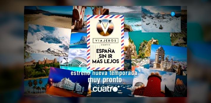 Imagen promocional de la nueva temporada de Viajeros Cuatro