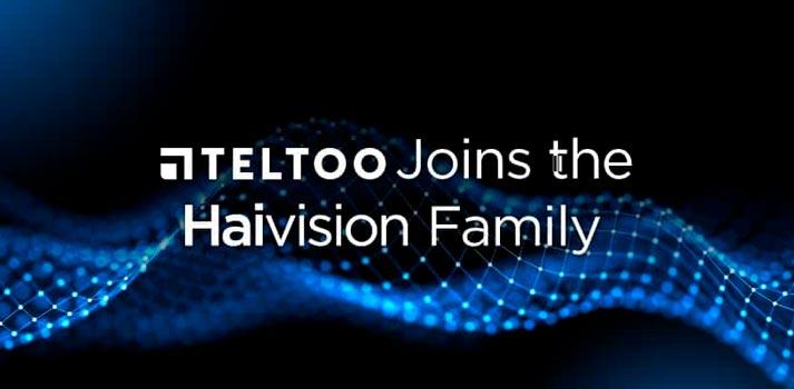 Teltoo anuncia su incorporación a Haivision