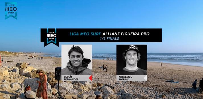 Gráficos de la Liga MEO Surf implementados por wTVision