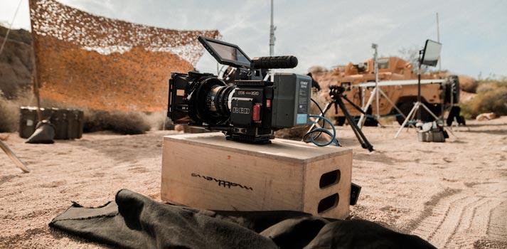 Producción audiovisual en las Islas Canarias - Imagen recurso making of del Gobierno de Canarias
