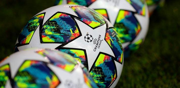 Balones de la competición deportiva UEFA Champions League